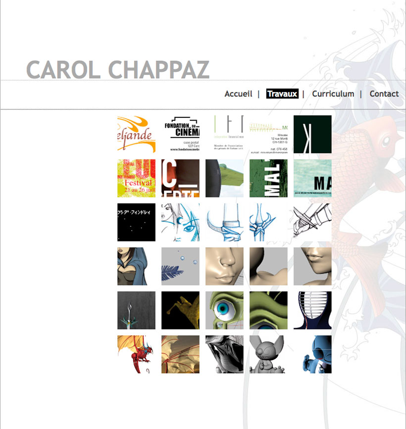 Projet de Chappaz Carol