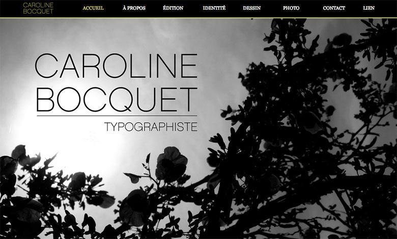 Projet de Bocquet Caroline